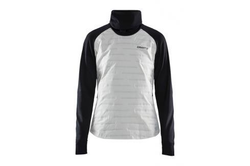 Dámská bunda Craft SubZ bílo-černá Dámské bundy a kabáty