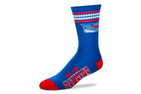 Ponožky FBF 4 Stripes Crew NHL New York Rangers Pánské ponožky
