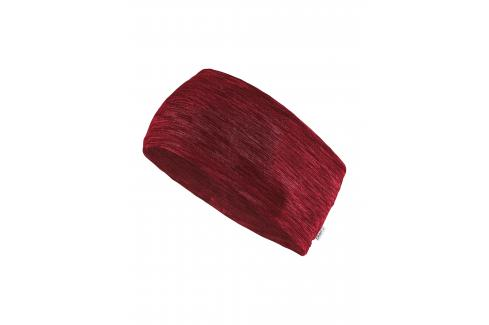 Čelenka Craft Melange červená Dámské oblečení