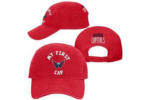 Dětská kšiltovka pro batole Outerstuff My First Cap NHL Washington Capitals Dětské oblečení