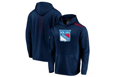 Pánská mikina s kapucí Fanatics Rinkside Synthetic Pullover Hoodie NHL New York Rangers Pánské mikiny