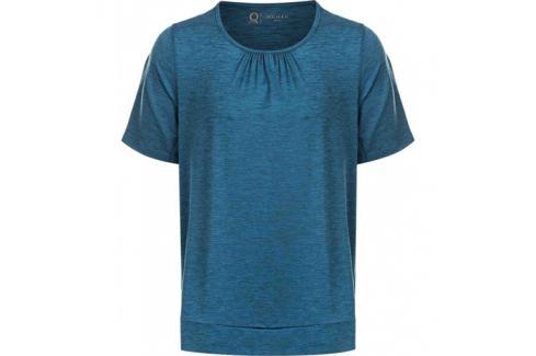Dámské tričko Endurance Q Bree Melange SS Tee modré Dámské oblečení