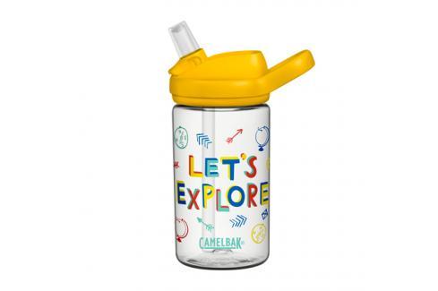 Dětská láhev CamelBak Eddy+ Kids 0.4l Lets Explore Cyklistické příslušenství