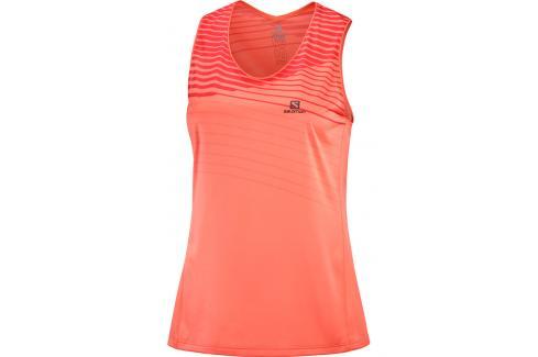 Dámské tílko Salomon Sense Tank oranžové Dámská trička