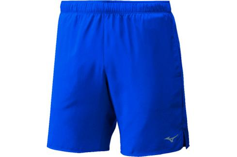 Pánské šortky Mizuno Core 7.5 Mid modré Pánské šortky