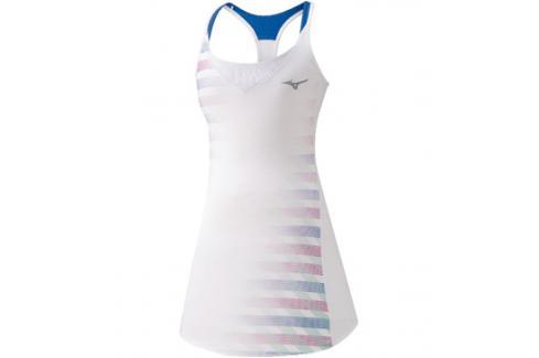 Šaty Mizuno Printed Dress bílé Sportovní sukně