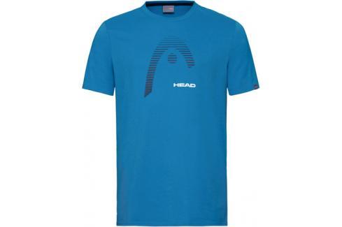 Pánské tričko Head Club Carl Blue Trička s krátkým rukávem