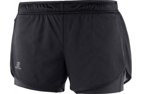 Dámské šortky Salomon Agile 2in1 černé Dámské šortky