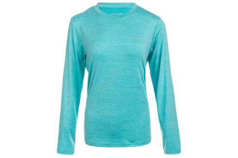 Dámské tričko Endurance Maje Melange LS Tee světle modré Dámská trička
