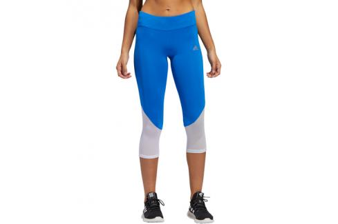 Dámské 3/4 legíny adidas Own The Run modré Dámské kalhoty