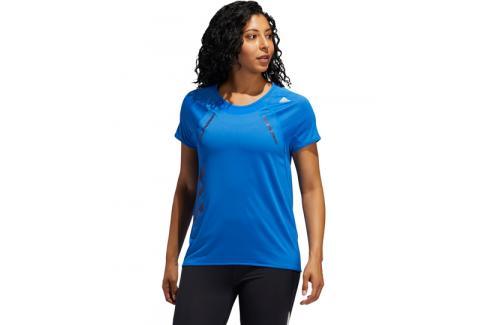 Dámské tričko adidas Heat.RDY modré Dámská trička