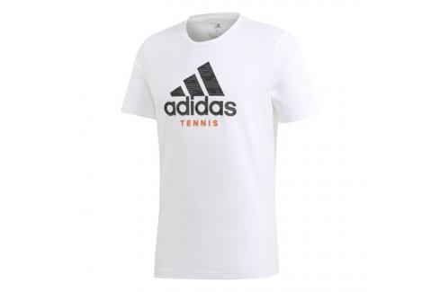 Pánské tričko adidas Category Logo Tee White Trička s krátkým rukávem
