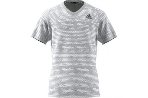 Pánské tričko adidas Freelift Tee Primeblue Grey Trička s krátkým rukávem