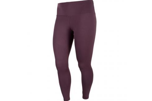 Dámské legíny Endurance Q Lucy Long Tights tmavě fialové Dámské oblečení
