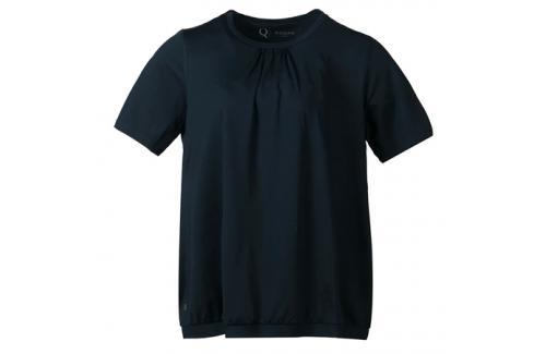 Dámské tričko Endurance Q Nella SS Tee tmavě zelené Dámské oblečení